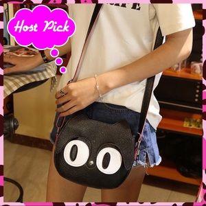 Handbags - 🏆HP🏆 Cute Cat Cross Body Purse